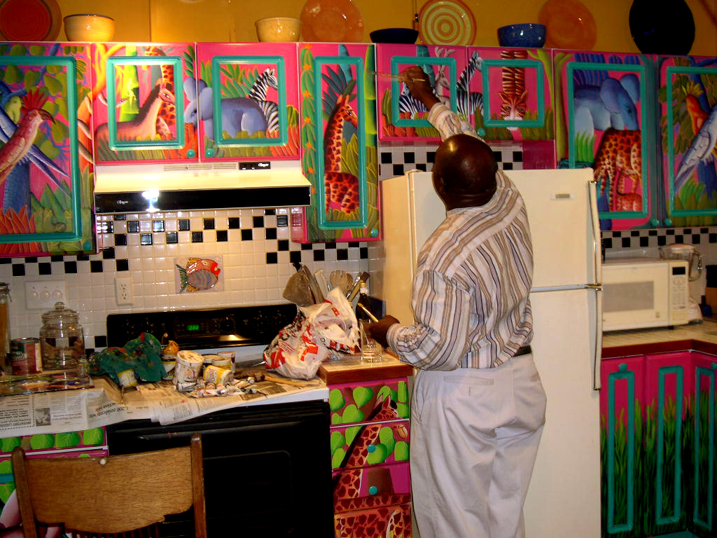 Haitian art caribbean fine art eastern cuban art for Ideas to paint my kitchen