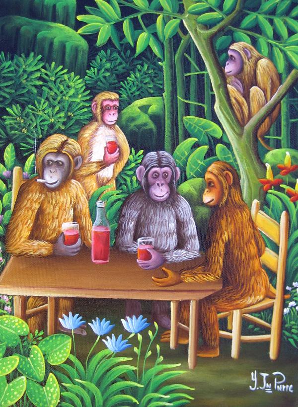 Yvon Jean-Pierre Painting 8 x 10
