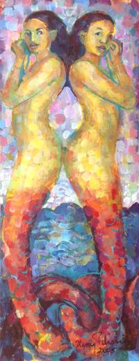 Mermaid Sisters, Henry Pelissier, 2005