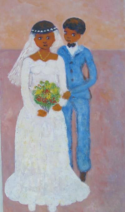 Shy Bride, Calixtes Henri, 1996